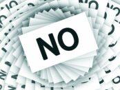 Modelos de cartas de respuesta negativa a una solicitud